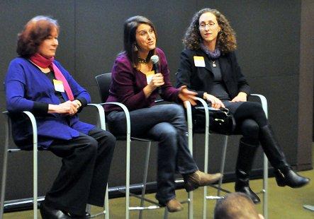 Karen Devitt, Aviva Goldfarb and Lindsey Parsons