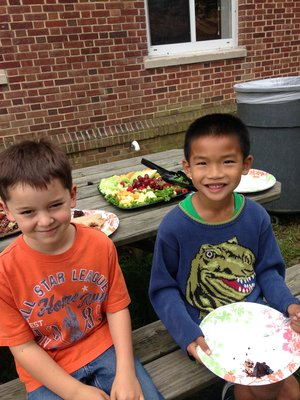 Jonah Cass and Jett Parsons, Sligo Creek ES